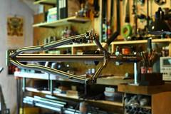 Shapes (44 Bikes) Tags: 44bikes custombicycle huntsman framebuilding titanium