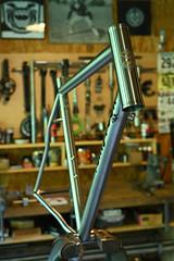 Huntsman Ti (44 Bikes) Tags: 44bikes custombicycle huntsman framebuilding titanium