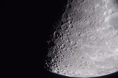 São Paulo 06-10-2019 (Airton Morassi) Tags: lua moon astronomy astronomia telescopio telescope newtoniano dobsonian crater satelite terra earth
