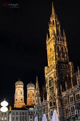 Münchener Rathaus bei Nacht | 20190528-_MB85765-Matthias Bauernschmidt Fotografie.jpg (MIAS#Fotografie) Tags: nacht münchen frauenkirche langzeitbelichtung rathaus munich night longexposure townhall