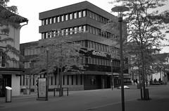 raiffeisen & mobiliar, boulevard kreuzlingen (tbrtsch) Tags: kodak medalistii kreuzlingen hauptstrasse boulevard 620 400asa bw sw analog rollfilm 6x9