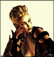Light Armor (- ̗̀ ÐίΔϺѺƝÐ ̖́-) Tags: diamond portrait screenshot picture snapshot face avatar catwa second life sl light armor dream escape fantasy immagination