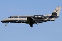 OE-GWV (GH@BHD) Tags: oegwv cessna c560 c560xl citation citationexcel europstaraircraft bhd egac belfastcityairport bizjet corporate executive aircraft aviation