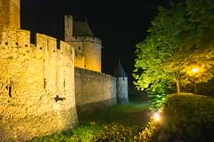 H A U N T E D (Dsalla10) Tags: world france francia noche night carcassonne castillo castle