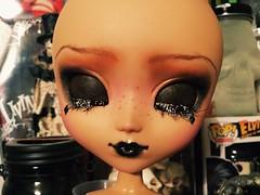 Pullip Jevera (Josie&theKILLER_DOLLS) Tags: doll skin ooak goth wip mocha mio pullip custom makeitown jevera