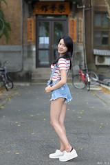 IMG_9718L (攝影玩家-明晏) Tags: 人 人像 戶外 美女 素人 model 外拍 台灣大學 pretty girl woman portrait 女生 女孩