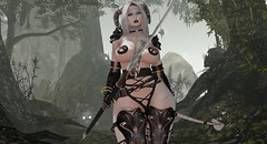 Patrolling the Forest (*Mazon*) Tags: secondlife blackdragon fantasy demon theforge theplastik trap kinky catwa slink seydr aii imitation cubiccherry eb fabia