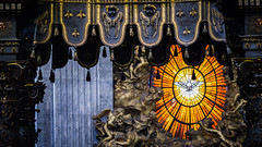 Alabaster Dove - St. Peter's Basilica (Benjamin RP) Tags: st saint peters basilica italy rome vatican city stained stain glass window alabaster dove holy spirit renaissance church