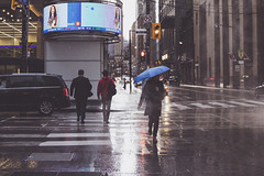Rainy spring days in Toronto (A Great Capture) Tags: agreatcapture agc wwwagreatcapturecom adjm ash2276 ashleylduffus ald mobilejay jamesmitchell toronto on ontario canada canadian photographer northamerica torontoexplore spring springtime printemps 2019 city downtown lights urban night dark nighttime overcast rain rainyday rainy cloudy streetphotography streetscape photography streetphoto street calle umbrella stphotographia person couple canon eos 6d mark ii ef2470mm