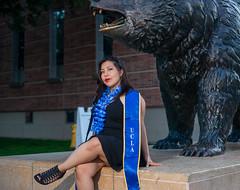 Graduation Photo - Dulce (Raymond Luna) Tags: graduation ucla girl woman session bruin bear 100th anniversary 100 years ackerman