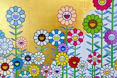 Murakami (jpellgen (@1179_jp)) Tags: mamofw fortworth dallas tx texas d7200 sigma 1770mm nikon june spring summer contemporaryart museum modernart usa travel south america art 2019 japanese japaneseart murakami flowers screen takashimurakami