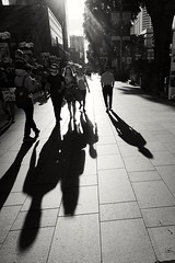 2019-06-11_08-39-32 (jumppoint5) Tags: street together people city blackandwhite bnw urban contrast light shadow