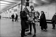 DRD160405_0412 (dmitryzhkov) Tags: urban outdoor life human social public stranger photojournalism candid street dmitryryzhkov moscow russia streetphotography people bw blackandwhite monochrome lowlight metro subway underground passenger night nightphotography transport