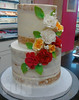 Naked cake with carnations (Ale - Bakeandfun) Tags: cakes fondant fondantcake lakewoodranch specialty