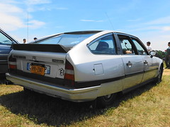 1987 Citroen CX 25 (splattergraphics) Tags: 1987 citroen cx25 turbo carshow radwood radwoodeast newjerseymotorsportspark millvillenj hooptiecon