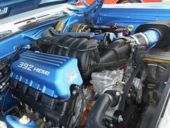 1971 Plymouth 'Cuda Convertible (splattergraphics) Tags: 1971 plymouth cuda barracuda ebody convertible customcar engine hemi 392 carshow carlisle carlisleallchryslernationals mopar carlislepa