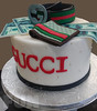 Gucci Cake with Money (Ale - Bakeandfun) Tags: cakes fondant fondantcake lakewoodranch specialty gucci