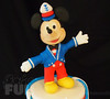 Mickey Topper (Ale - Bakeandfun) Tags: cakes fondant fondantcake lakewoodranch specialty