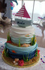 Under the Sea and Beach Cake (Ale - Bakeandfun) Tags: cakes fondant fondantcake lakewoodranch specialty