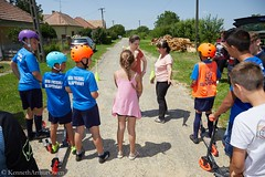 Csertő Kerékpáros Közlekedésbiztonság 2019-06-08 (18) (neonzu1) Tags: people outdoors csertő village countryside eventphotography safety instruction