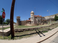 P6100628 (goflight001) Tags: summer2019 canoncity coloradostatepenitentiary prison gaschamber museum prisonerart guardtower