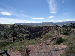 P6100648 (goflight001) Tags: summer2019 canoncity royalgorge geology bridge