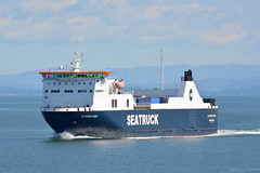 Clipper Point, Heysham 22/5/19 (David K- IOM Pics) Tags: seatruck roro ferry ship vessel boat heysham o port