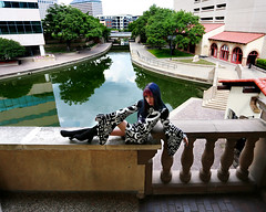 img_4932-4x5 (steevithak) Tags: model modeling portrait lascolinas irving texas tx photoshoot