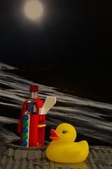 Duck 130 of 365 (don_espe) Tags: 365 365day duck duckie ducky moon rocket rubberduck rubberducky space spaceship lego legos