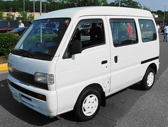 1994 Suzuki Every Joy Pop (splattergraphics) Tags: 1994 suzuki every joypop van kei jdm carshow churchoftheholydonut burtonsvillemd