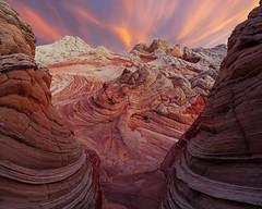 Convergence (Matt Payne Photography) Tags: arizona clouds dragon eye glow landscape march rock rocks sandstone sonya7r2 southwest spring sublime sunset vermillioncliffsnationalmonument desert redlight soft
