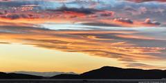 2011-09-25 Sunset (1360x680) (-jon) Tags: anacortes skagitcounty skagit washingtonstate washington salishsea fidalgoisland sanjuanislands pugetsound guemeschannel curtiswharf sunset sky clouds cloud pnw pacificnorthwest d90archives a266122photographyproduction