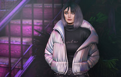 L285 (JoJo Delvalle - Photographer & blogger) Tags: secondlife game virtual doll 3d cute purple lelutka glamaffair doux dubai dubaievent evie