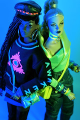 Baby, don't blink when I'm watching you, and I can't rewind (DollTheRage) Tags: nuface violaine perrin annik vandale counter culture awakening fashion royalty integrity toys 2018 winter fall beyond this planet jessy ayala
