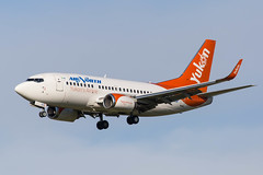 airnorth_737_cfanf_yeg (Lensescape) Tags: yeg 2019 boeing b737 737 airnorth yukon 737500 b737500 cfanf