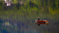 Serenity (Peter Hungerford) Tags: serenity peaceful fishing lake water austria