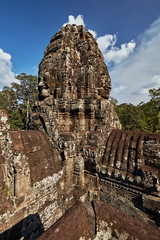 Bayon – Stone faces (Thomas Mülchi) Tags: bayon temple angkor siemreap cambodia 2018 siemreapprovince angkorthom tower stoneface architecture krongsiemreap