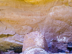 Ruins and Pictographs (xjblue) Tags: ruin ruins pictograph rockart fremont handprints white southernutah canyonlands utah anasazi contact ledge horned anthropomorph olympus stylus1000 pointnshoot