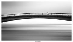 Training Day ... (michel di Méglio) Tags: minimalist bw olympus noiretblanc monochrome blackandwhite street bridge pont martigues