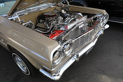 Impala Bling (e_rojas324) Tags: chevy chevrolet impala chrome enginebay whittier uptown carshow