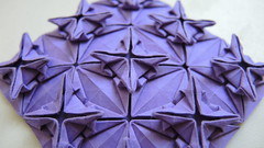 Chandelier (Arseni Ko) Tags: origami pattern paper design geometry symmetry tesselation