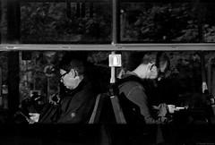 Dialog / Dialogue (Tu i tam fotografia) Tags: blackandwhite noiretblanc enblancoynegro inbiancoenero bw monochrome czerń biel czerńibiel noir czarnobiałe blancoynegro biancoenero ludzie people człowiek man woman kobieta telefony phones okno window glass szyba tram tramway tramwaj streetcar miasto city street ulica streetphoto fotografiauliczna streetphotography mobilephones telefonykomórkowe rozmowa conversation talk dialog dialogue streetlife