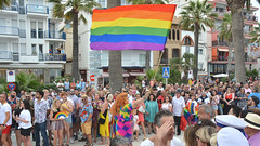 2019 Pride: Sitges, Spain (M McBey) Tags: pride lgbt colour color rainbow people march celebrations sitges spain