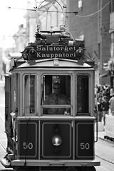 6Q3A9259 (2) (www.ilkkajukarainen.fi) Tags: tram raitiovaunu blackandwhte mustavalkoinen monochrome life happy suomi finland finlande eu europa scandinavia antique vintage visit travel travelling