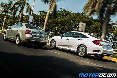 Honda-Civic-vs-Skoda-Octavia-2