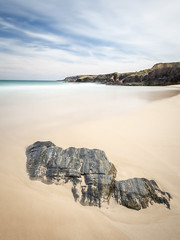 Port Ness Beach (Chris Golightly) Tags: scotland isle lewis beach sea seascape lee filters ness port sand