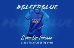 Gear up Indians: Blue is the Colour of the Month (Miraj Group) Tags: kidswear womensclothing mensclothing fashionstore bleedblueclothing bleedbluetosupportteamindia mirajlabels iccworldcup2019 2019cricketworldcup bleedbluecampaign indiancricketteam