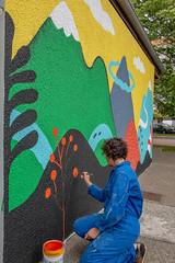 Fresque SOIA-172 (Mairie de Colomiers (compte officiel)) Tags: artiste colomiers soia sophie fresque peinture valdaran