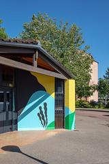 Fresque SOIA-147 (Mairie de Colomiers (compte officiel)) Tags: artiste colomiers soia sophie fresque peinture valdaran