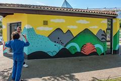 Fresque SOIA-143 (Mairie de Colomiers (compte officiel)) Tags: artiste colomiers soia sophie fresque peinture valdaran